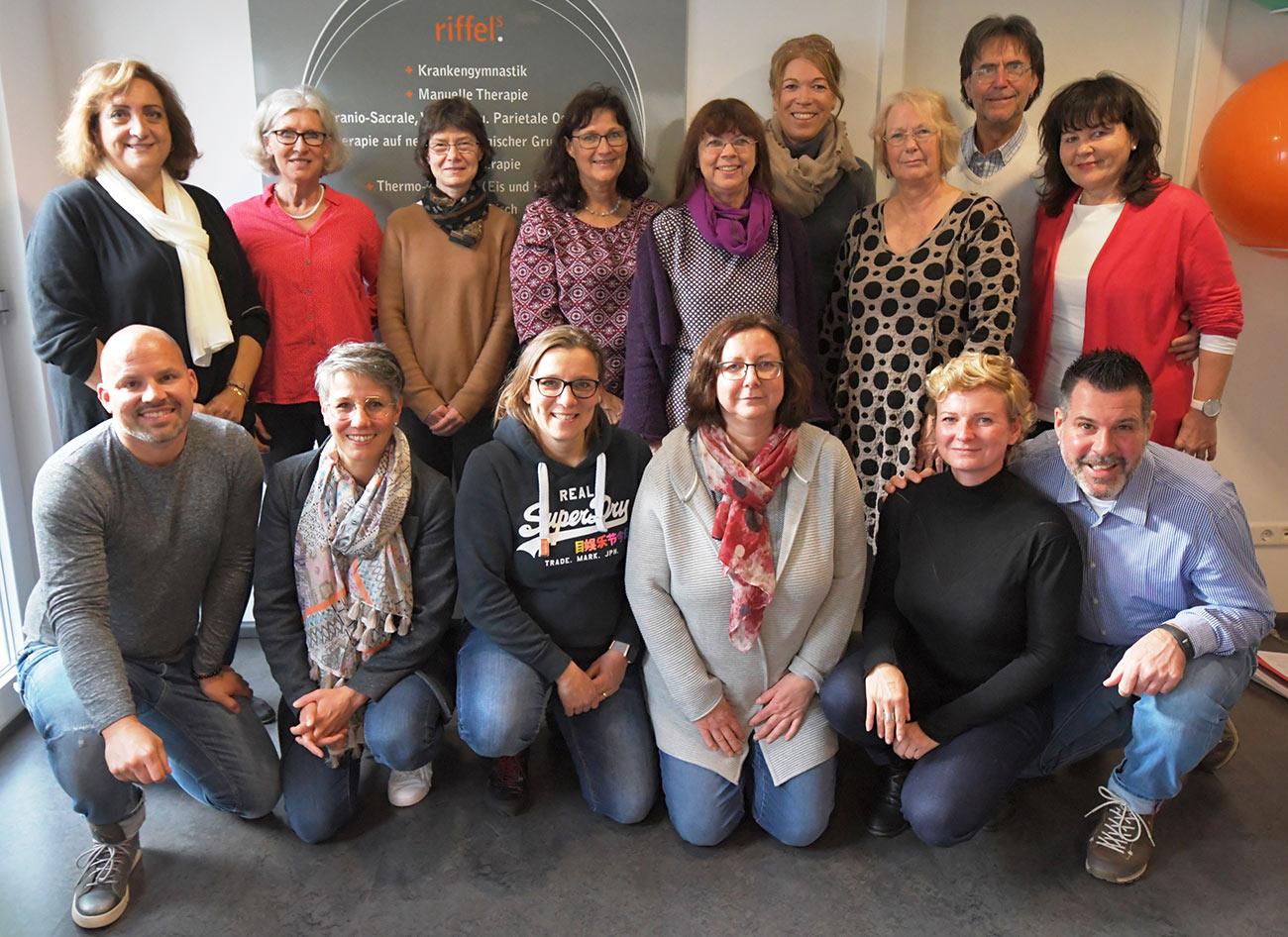 Gruppenfoto beim Seminar im November 2019