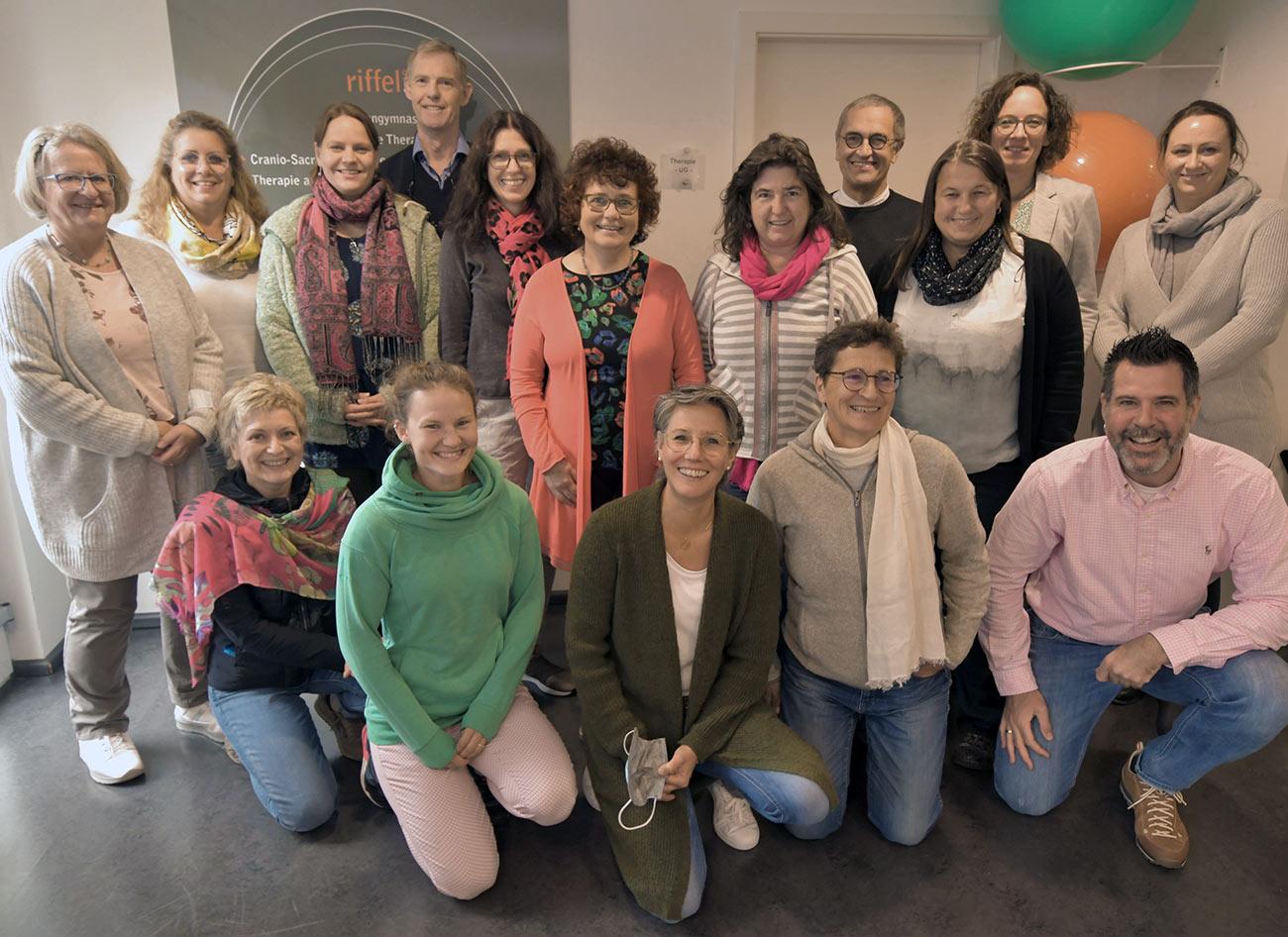 Gruppenfoto beim Workshop im September 2020